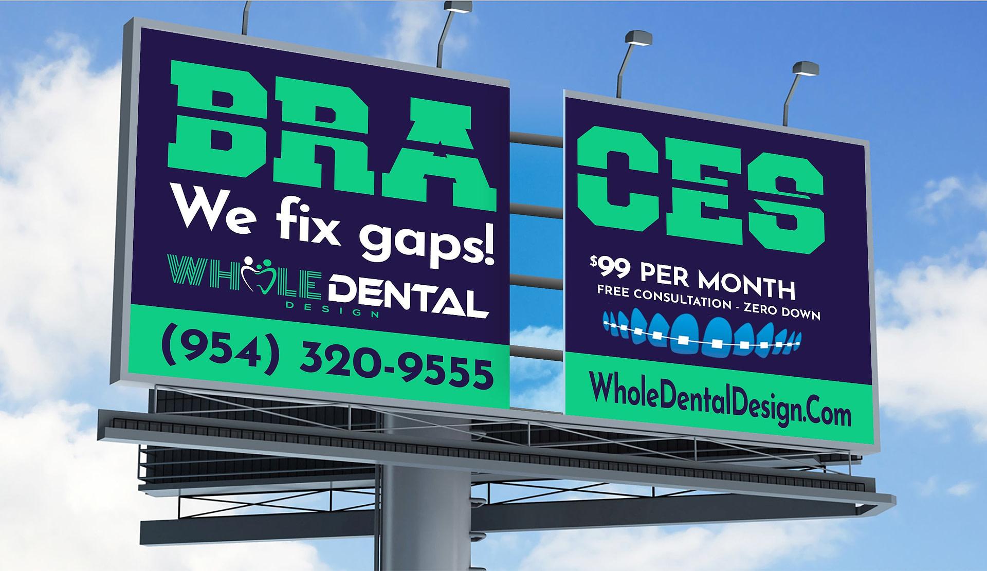 Braces Special Billboard